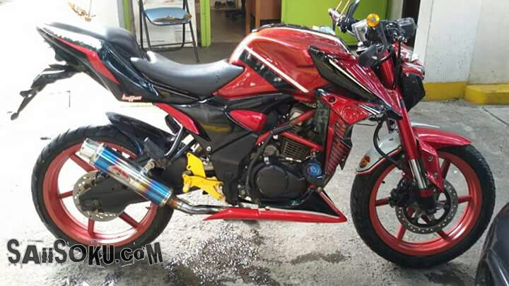 Modifikasi Honda Verza: Street Fighter