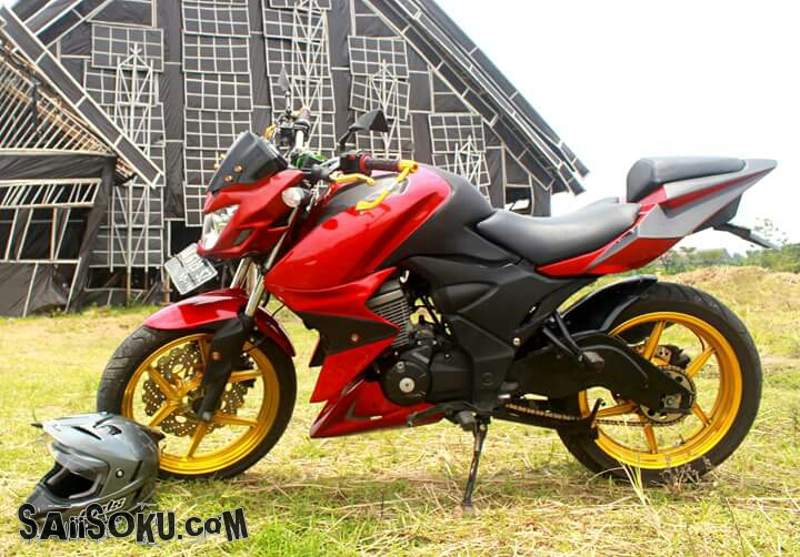 Modifikasi Honda Verza: Street Fighter II