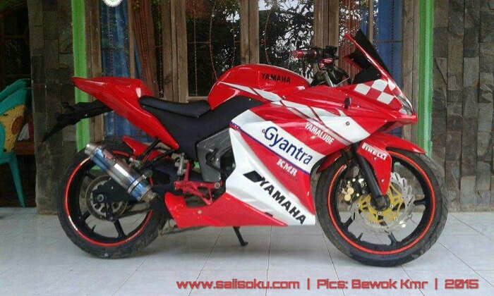modifikasi byson full fairing r25 terkeren