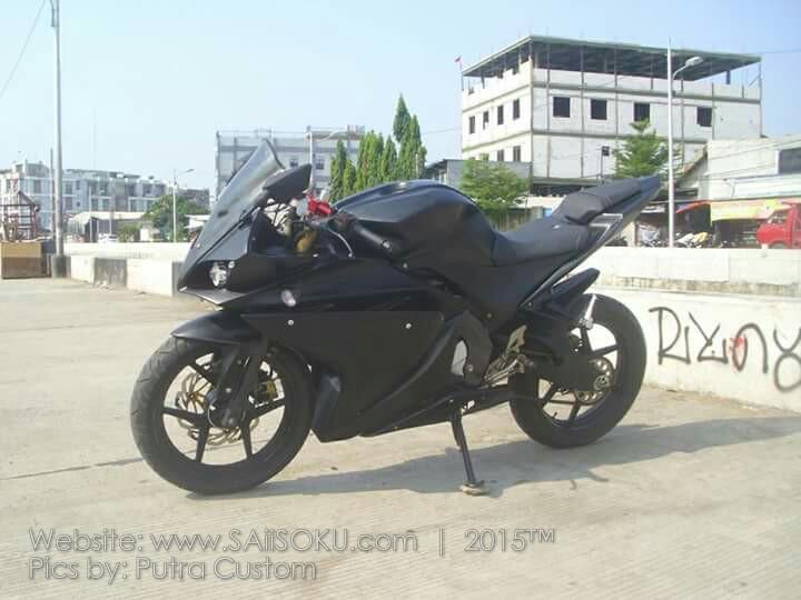 Tempat Modifikasi Custom Yamaha Vixion Ala R125 Di Jakarta