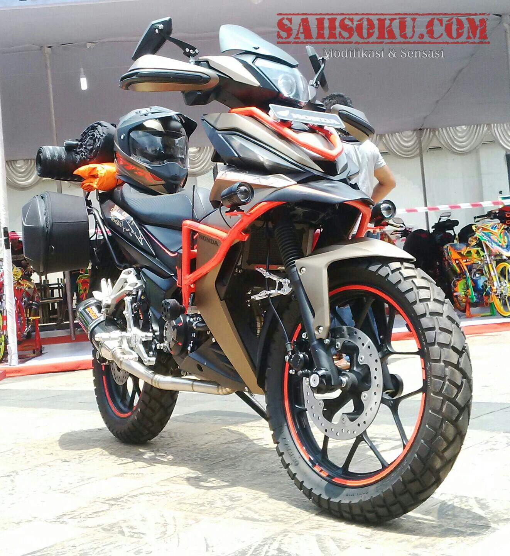Honda Supra GTR150 Bergaya Adventure SAiiSOKUcom