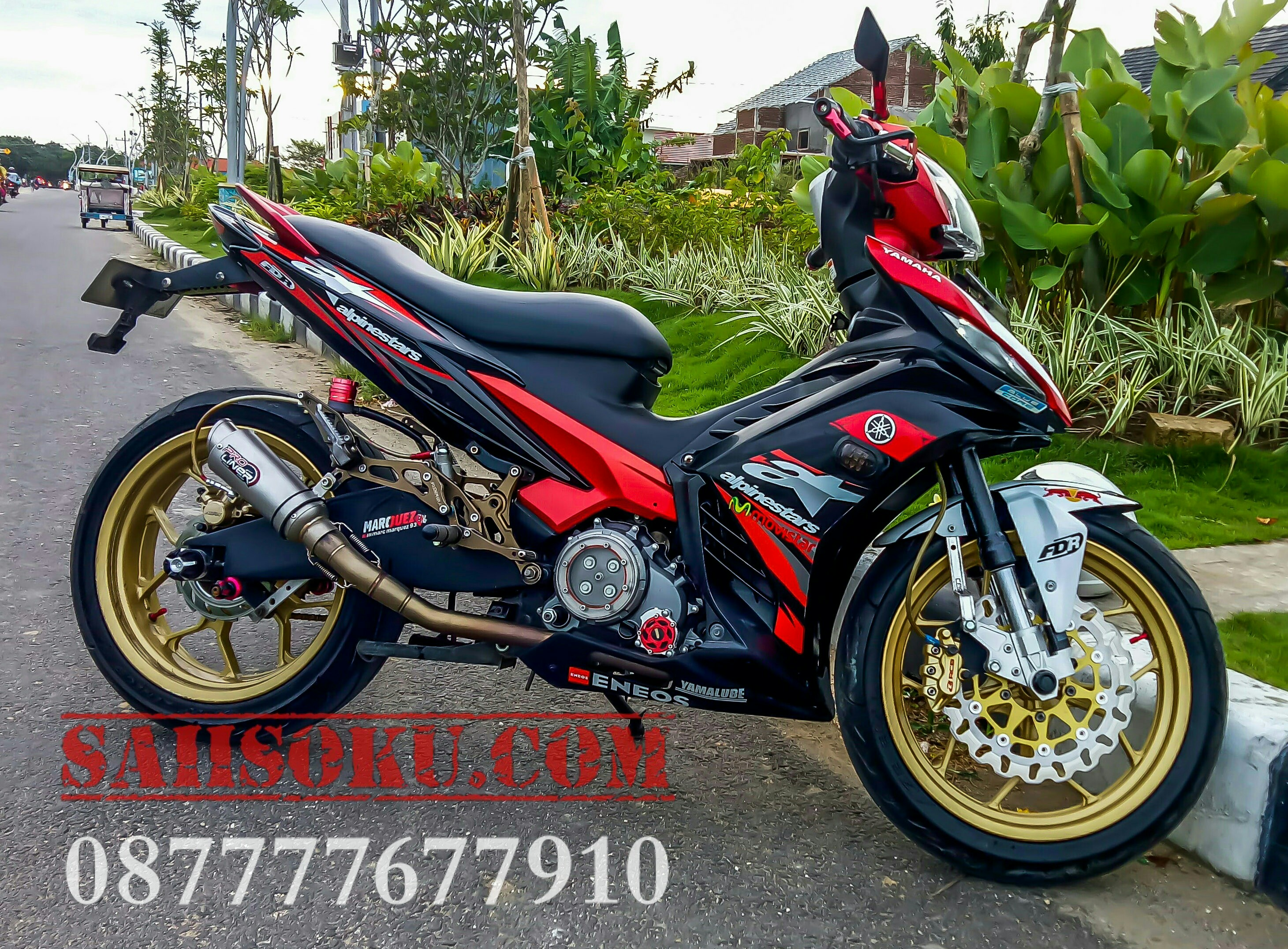 Kumpulan Modifikasi Touring Jupiter Mx 2018 Combo Modifikasi